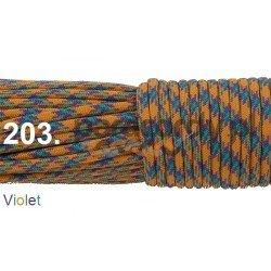 Paracord 550 linka kolor violet