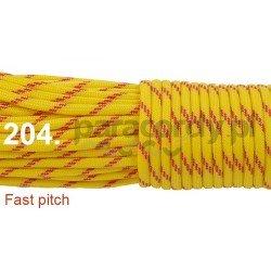 Paracord 550 linka kolor fast pitch