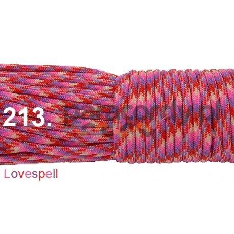 Paracord 550 linka kolor lovespell