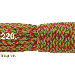 Paracord 550 linka kolor iraqi vet