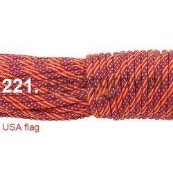 Paracord 550 linka kolor USA flag