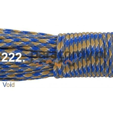 Paracord 550 linka kolor void