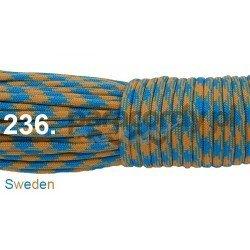 Paracord 550 linka kolor sweden