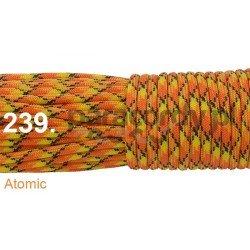 Paracord 550 linka kolor atomic