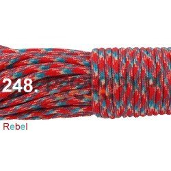 Paracord 550 linka kolor rebel