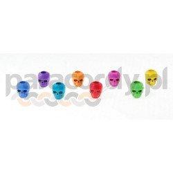Czaszka akrylowa, do wyrobów z Paracordu, kolor: Mix