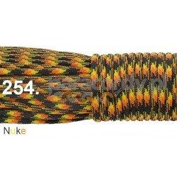 Paracord 550 linka kolor nuke