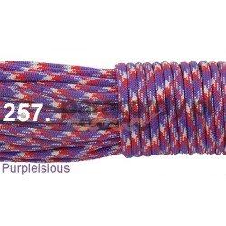Paracord 550 linka kolor purpleisious