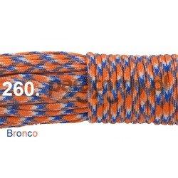 Paracord 550 linka kolor bronco