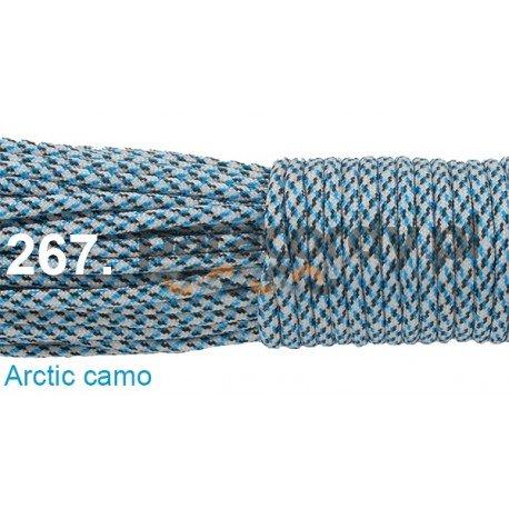 Paracord 550 linka kolor arctic camo