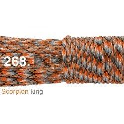 Paracord 550 linka kolor scorpion king