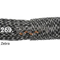 Paracord 550 linka kolor zebra