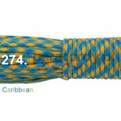 Paracord 550 linka kolor caribbean