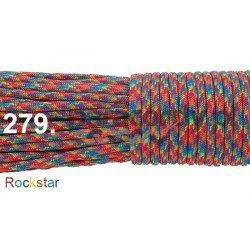 Paracord 550 linka kolor rockstar