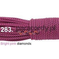 Paracord 550 linka kolor bright pink diamonds