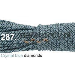 Paracord 550 linka kolor crystal blue diamonds