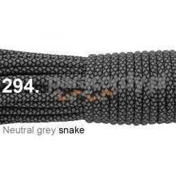 Paracord 550 linka kolor neutral grey snake