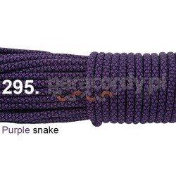 Paracord 550 linka kolor purple snake
