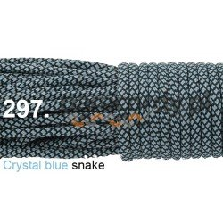 Paracord 550 linka kolor crystal blue snake