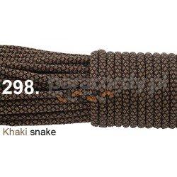 Paracord 550 linka kolor khaki snake