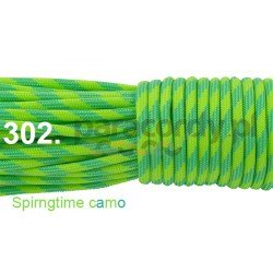 Paracord 550 linka kolor spring time camo