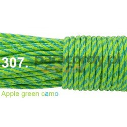 Paracord 550 linka apple green camo