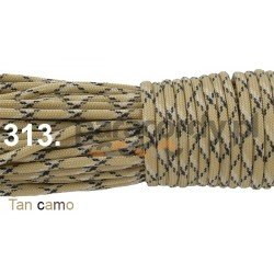 Paracord 550 linka kolor tan camo