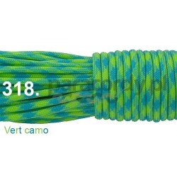 Paracord 550 linka kolor vert camo