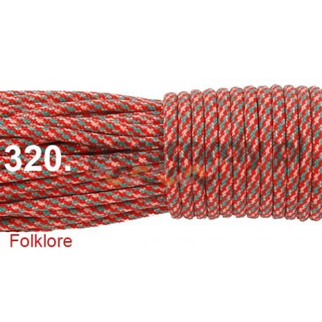 Paracord 550 linka kolor folklore