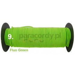 Shockcord 3mm kolor fluo green