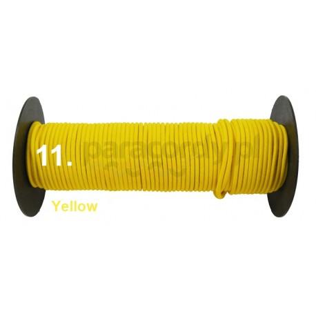 Shockcord 3mm kolor yellow