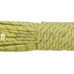 Paracord 550 GITD świecący linka kolor yellow reflective