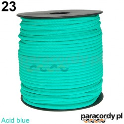 Paracord 220 linka kolor acid blue