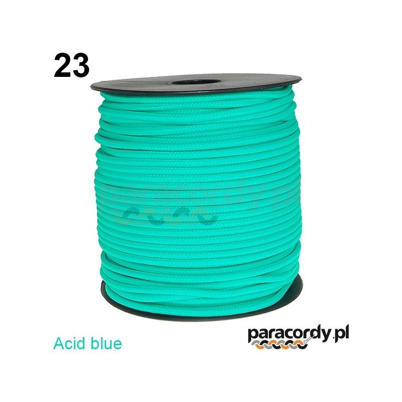 Paracord 220 linka kolor acid blue
