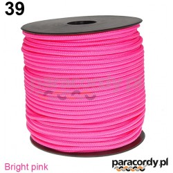 Paracord 220 linka kolor bright pink