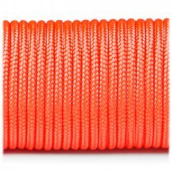 Paracord 220 minicord linka kolor sofit orange