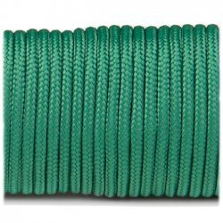 Paracord 220 minicord linka kolor green