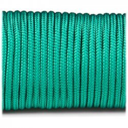 Paracord 220 minicord linka kolor emerald green
