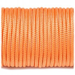 Paracord 220 linka kolor orange yellow