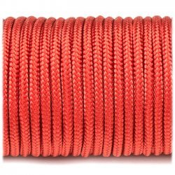 Paracord 220 minicord linka kolor crimson