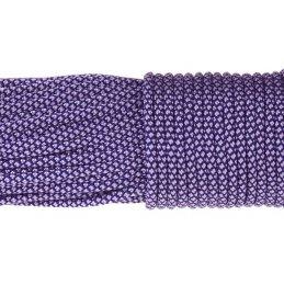 Paracord 550 linka kolor white purple snake