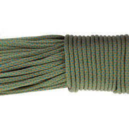 Paracord 550 linka kolor ice mint goldenrod snake
