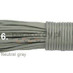 Paracord neutral gray