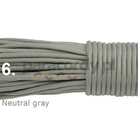 Paracord neutral gray