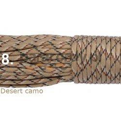 Paracord desert camo